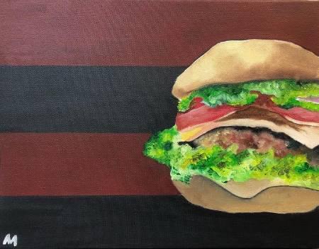 Minnie-美式漢堡