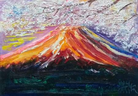 鄭淵仁-富士山~1