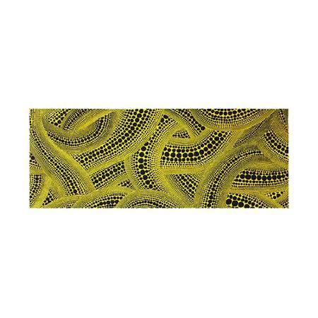 多納藝術-草間彌生 黄樹手巾