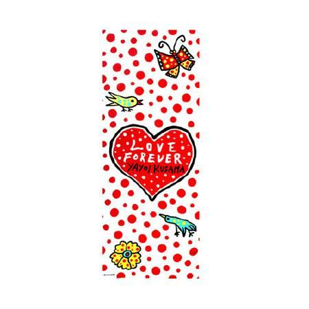 多納藝術-草間彌生 永恆的愛手巾 LOVE FOREVER