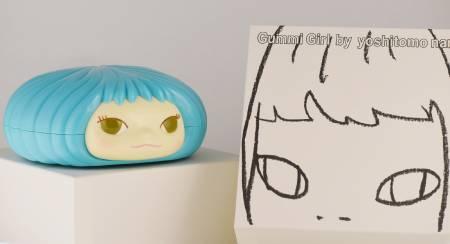 多納藝術-奈良美智糖果罐 (藍)