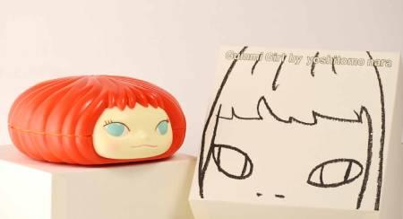 多納藝術-奈良美智糖果罐 (紅)