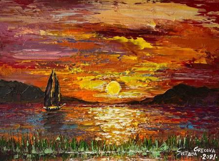 葛拉娜-Parallel reality sunset