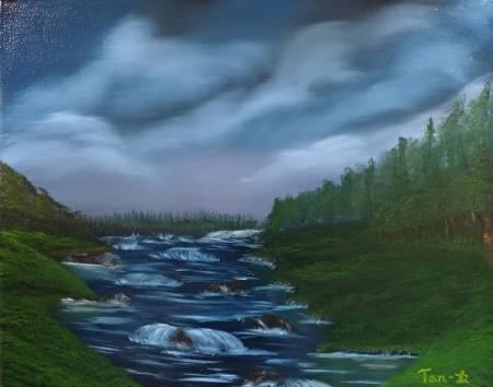紀丹瓈-溪流