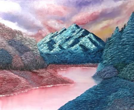 紀丹瓈-夢中的山水