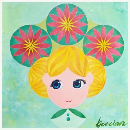 薇薇安-四季守護花神-二月-杏花-嬌羞、愛慕