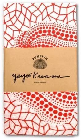 多納藝術-草間彌生 經典水玉南瓜手巾 (紅) Yayoi KUSAMA Pumpkin Tenugui/Hand Towel (red)
