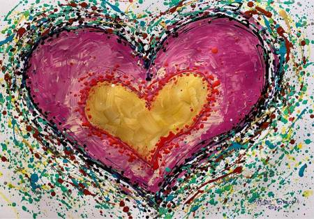 葛拉娜-Loving heart-pink