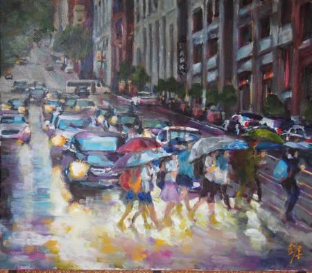 彭滂沱-雨景