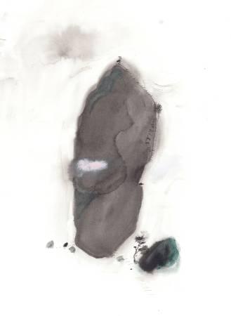 Ms.David-爬山記-原是個大石