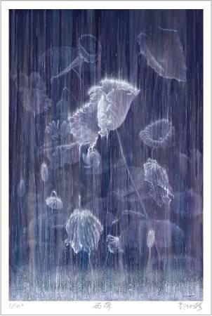 郭心漪-雨荷 Rain & Lotus