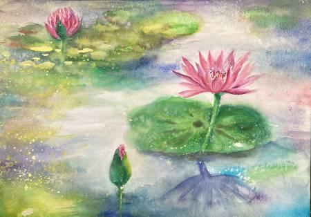 悠遊-池上蓮花