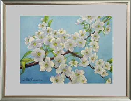 葛拉娜-溫柔堅毅-梅花 Tenderness -plum blossom