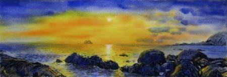 王素-外木山之晨