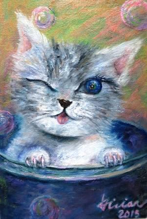 薇薇安-調皮的貓咪
