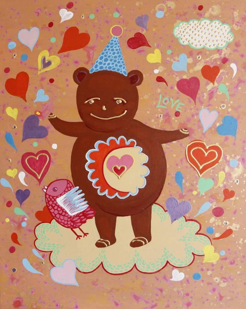葛拉娜-From Mom with LOVE  (Teddy bear)
