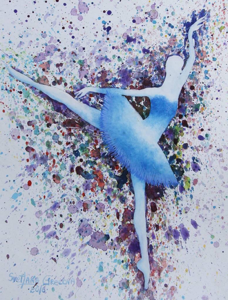 葛拉娜-Blue ballerina