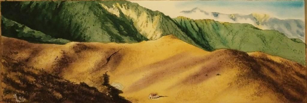 王素-大水窟山