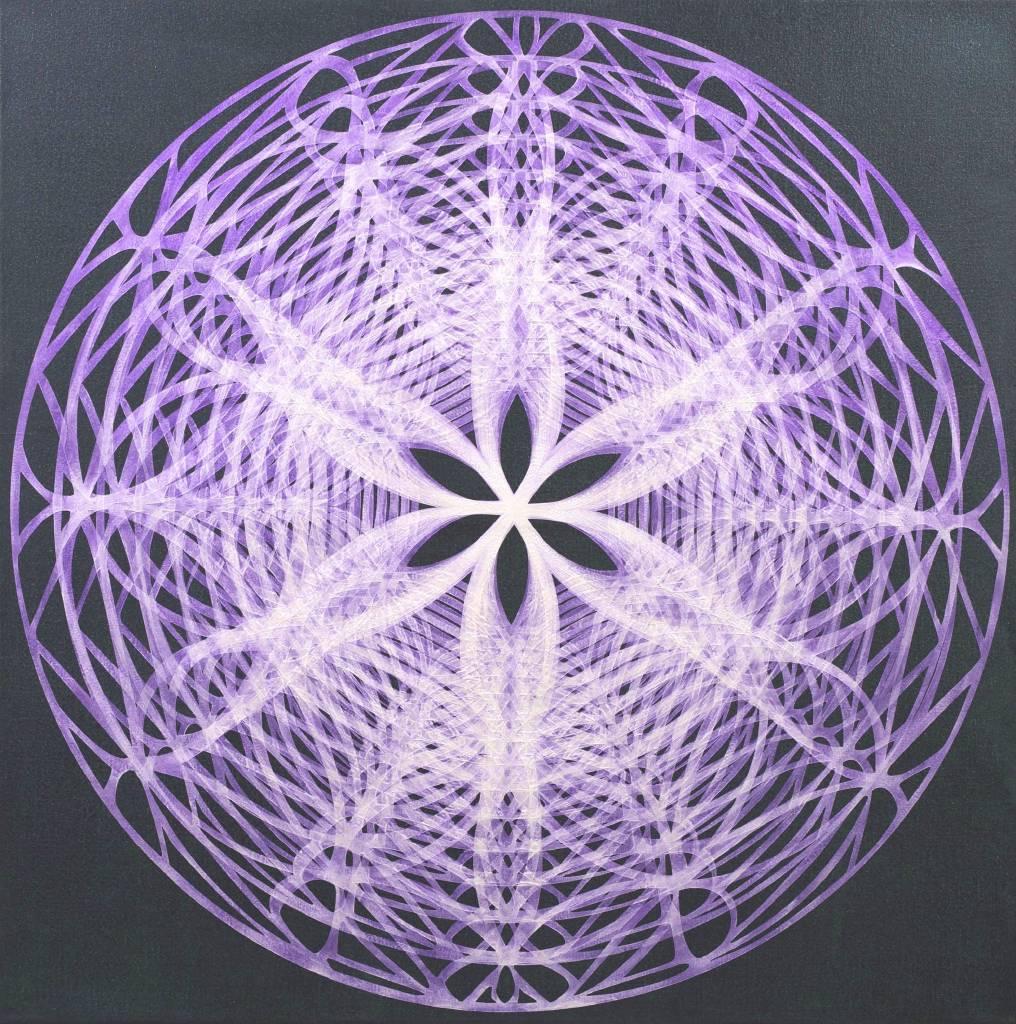 李思慧-折光.黑(紫) Interference.Black(Violet)