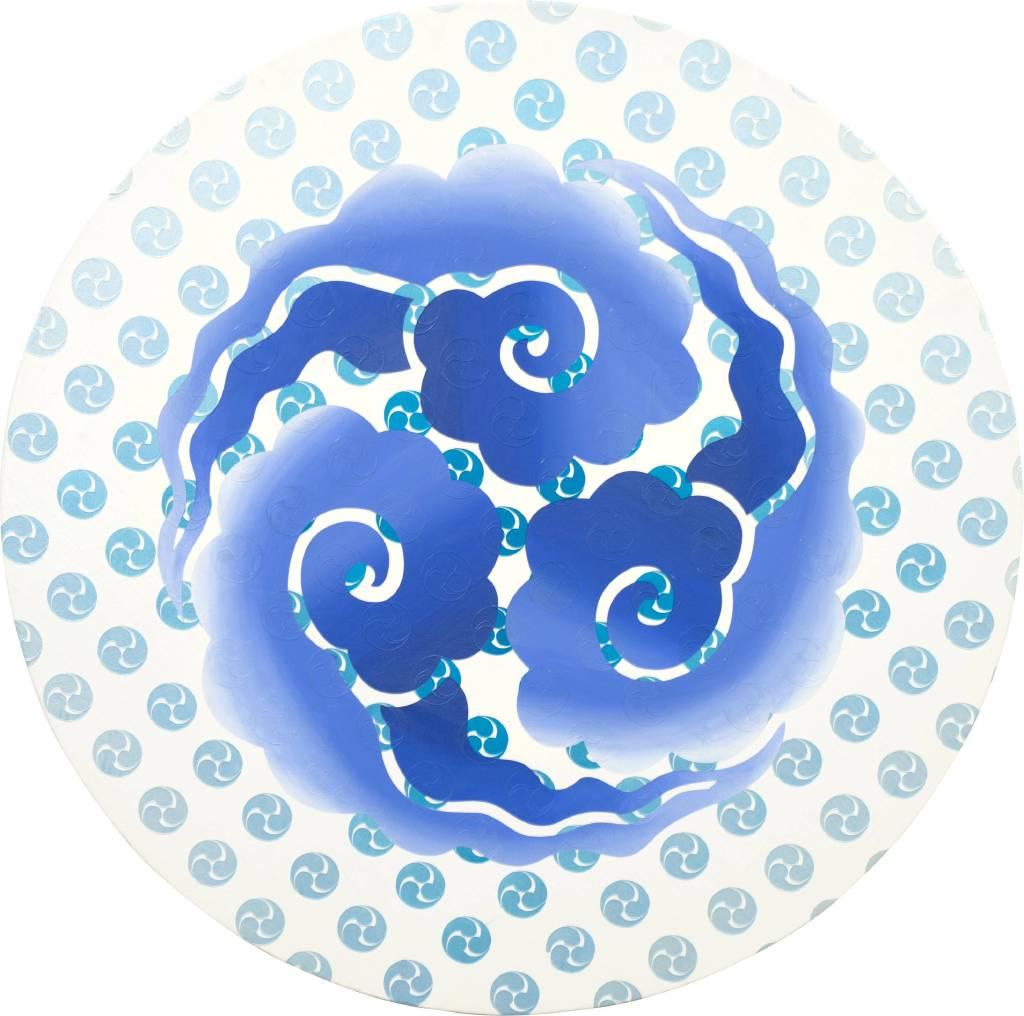 李思慧-藍色的世界Ⅲ(漩) The Blue WorldⅢ(spiral)