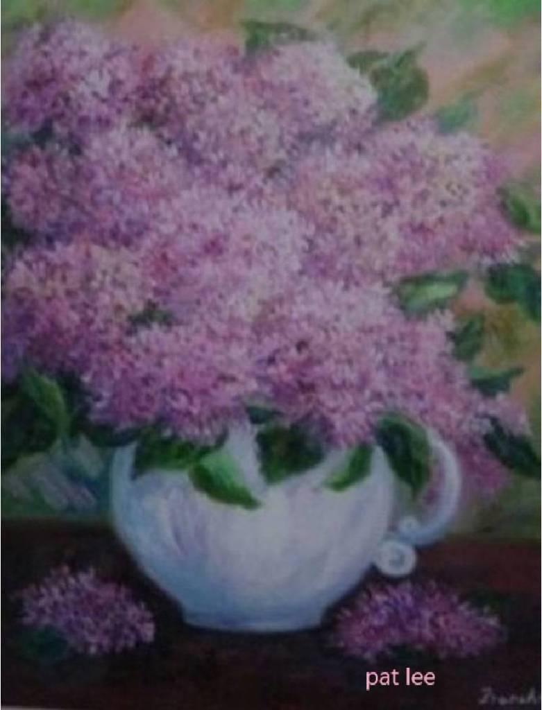 李芳時-紫色花