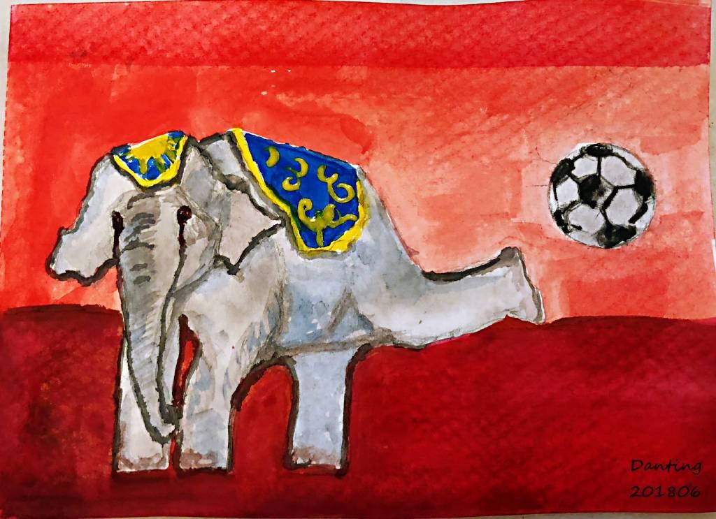 Danting-play soccer [含框]