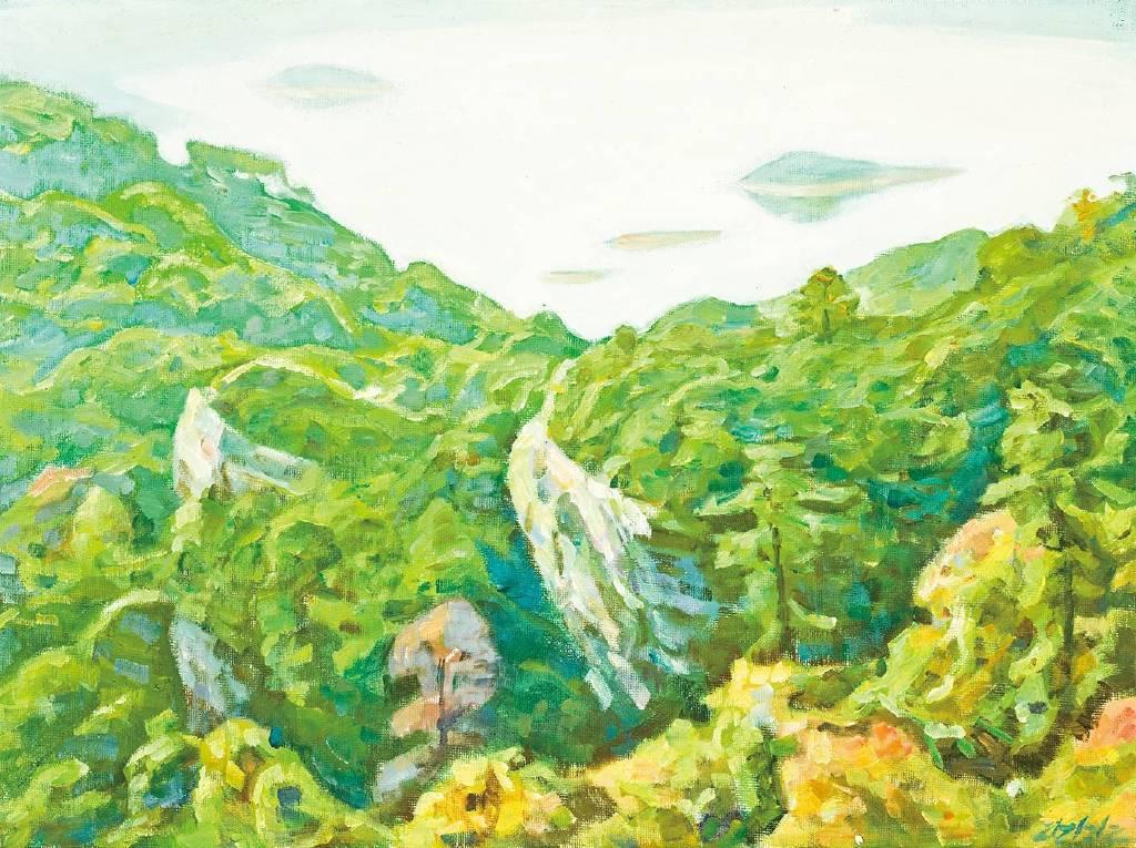 李全淼-大金湖系列 13
