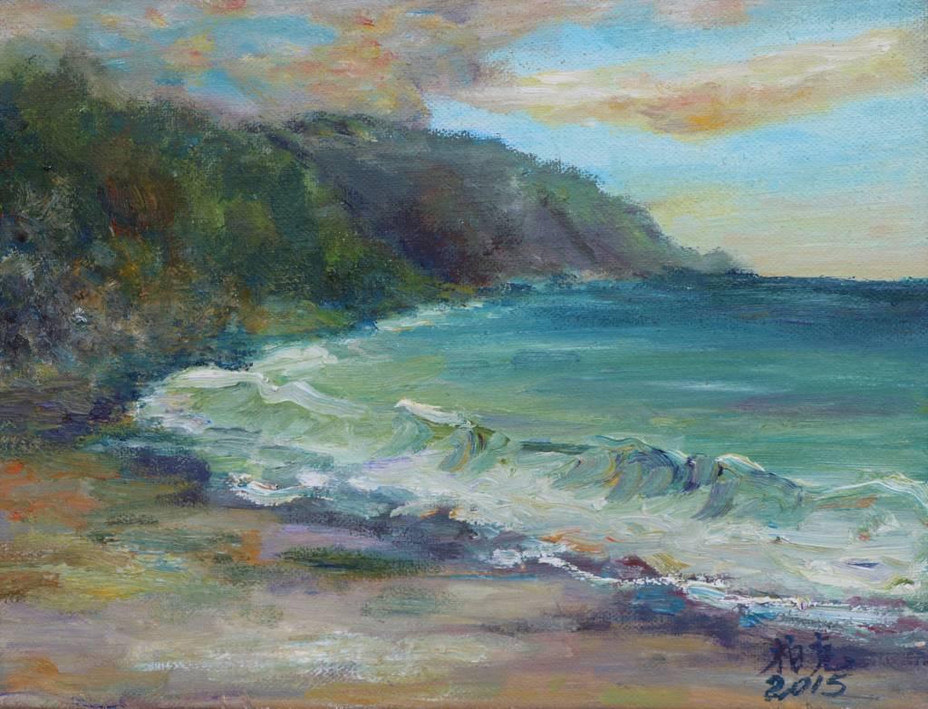 潘柏克(柏克創藝)-東澳灣海灘