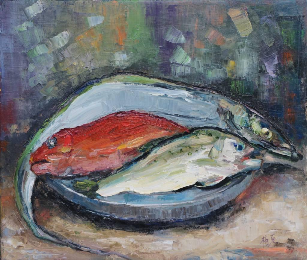 潘柏克(柏克創藝)- 年年有餘(魚)  To have fish year after year