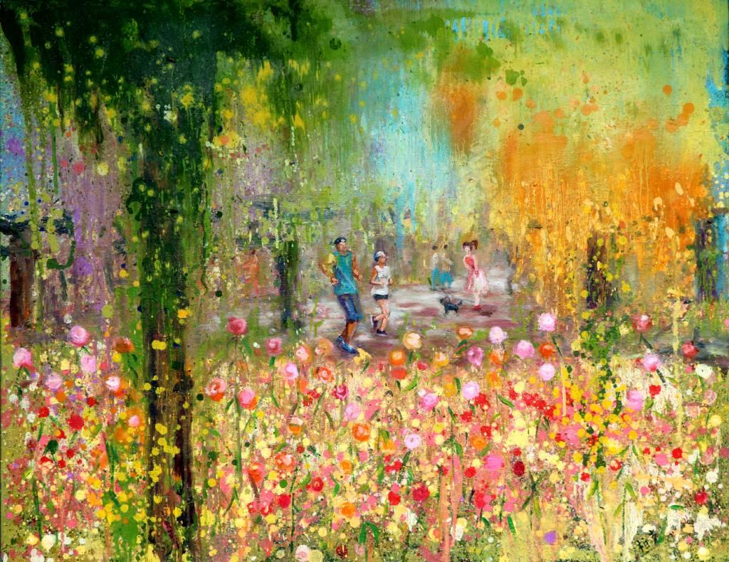 潘柏克(柏克創藝)-花園百花齊放 All Sorts of Flowers Bloom in Garden