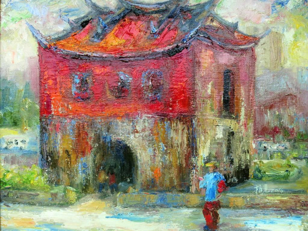 潘柏克(柏克創藝)-台北北門 Taipei City Wall—North Gate