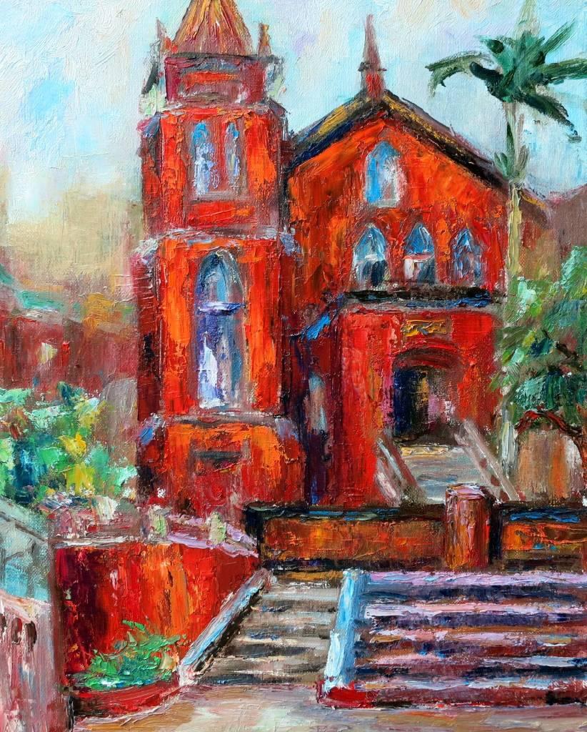 潘柏克(柏克創藝)-淡水禮拜堂 Chapel of Presbyterian Church, Tamsui