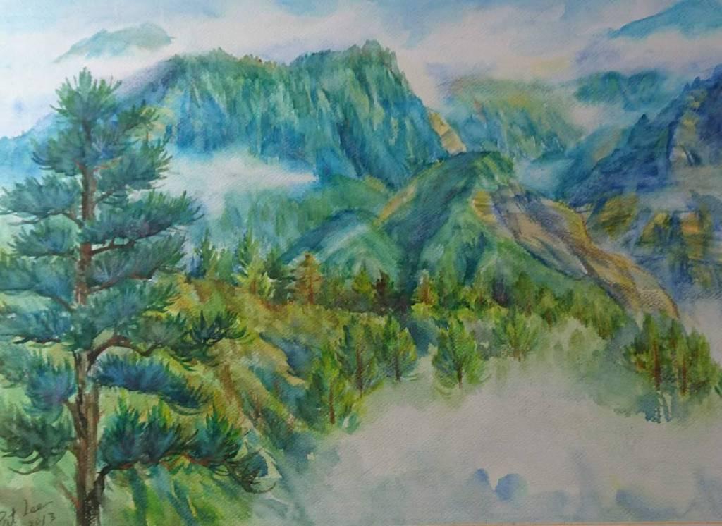 李芳時-鹿林山