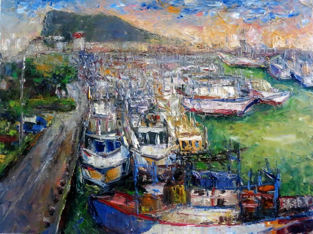 潘柏克(柏克創藝)-深澳漁港 Shenao Fishing Port