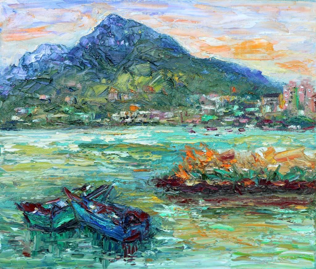 潘柏克(柏克創藝)-眺望觀音山 Overlooking Guanyin Mountain