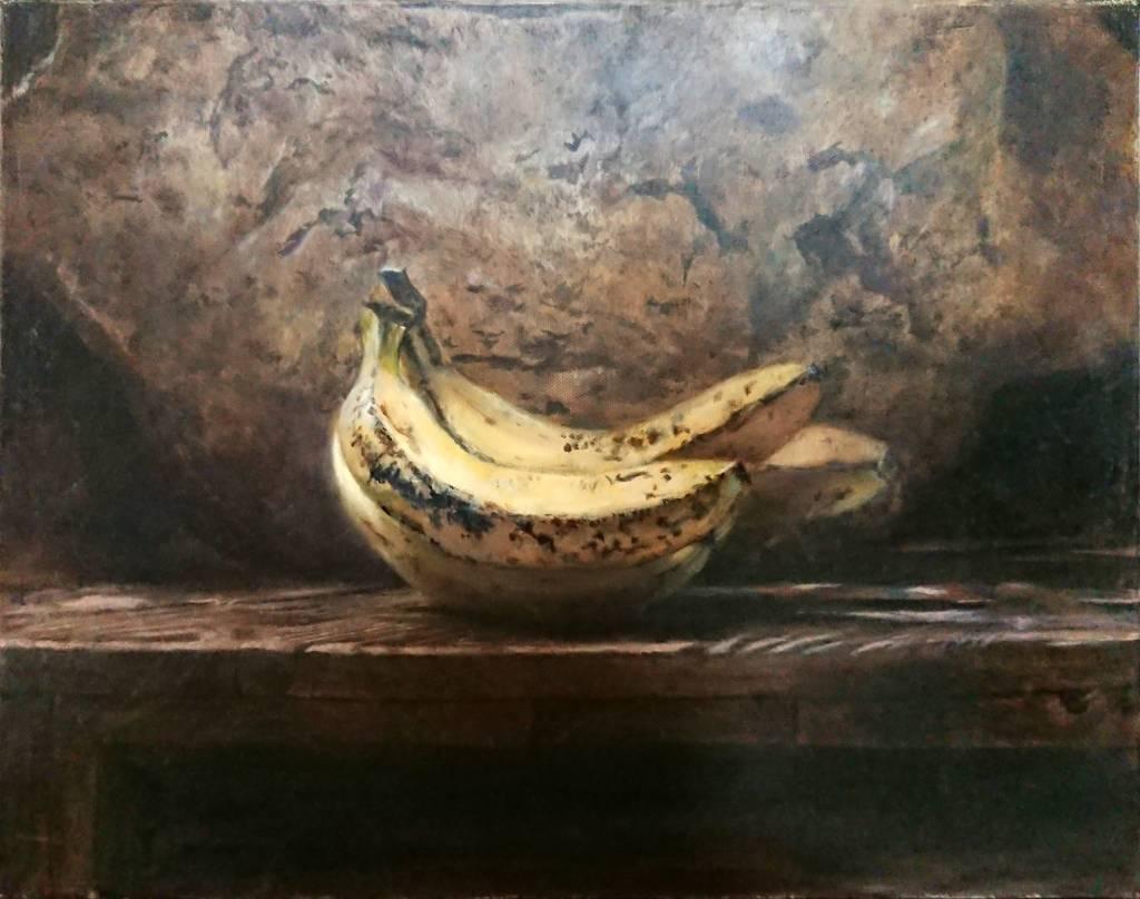 曾寶萱-香蕉靜物畫