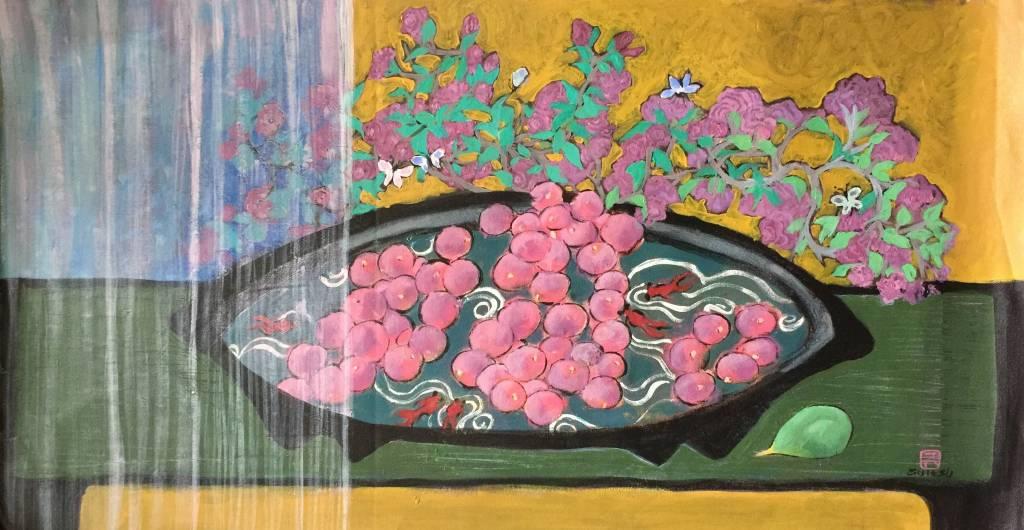 秀子-花果魚盤