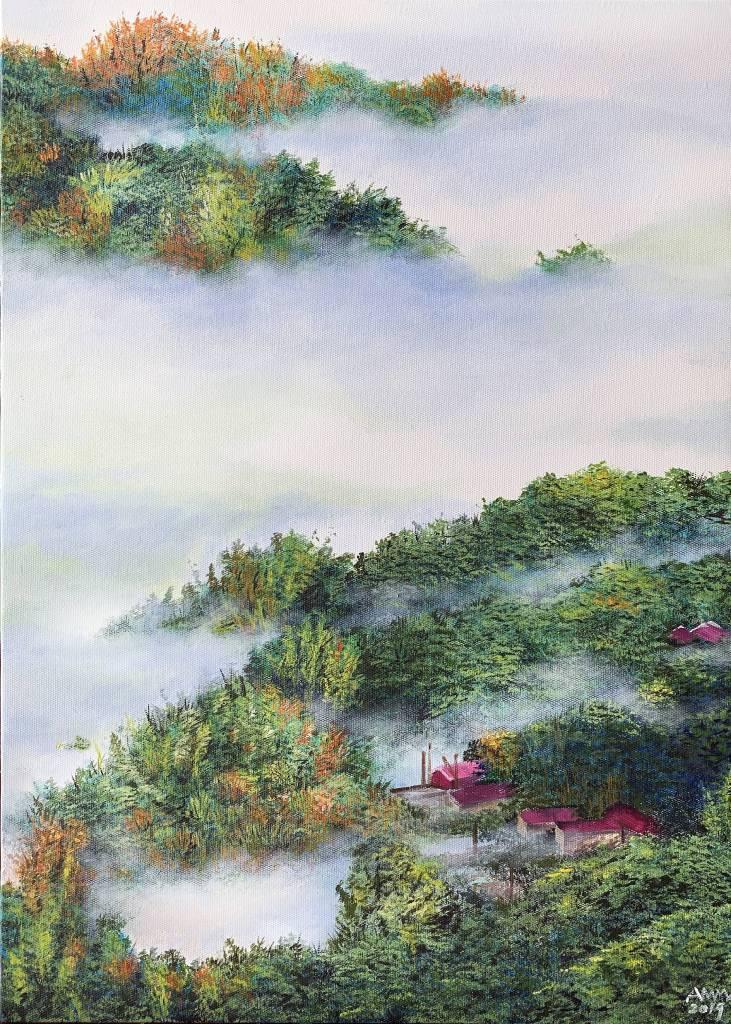 艾瑪 Amma-《追光者系列:雲霧柔光之一》Light Chaser : The Grand Sea Of Clouds In Tainan E