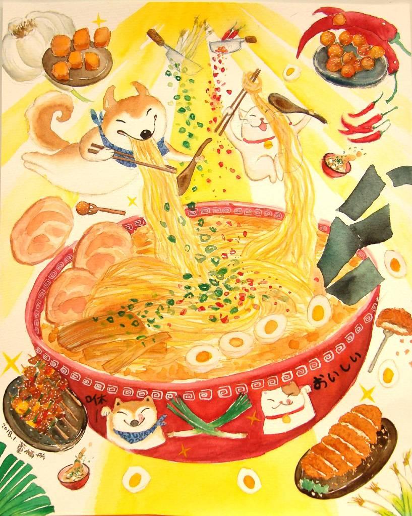 董木雨彤-好吃拉麵