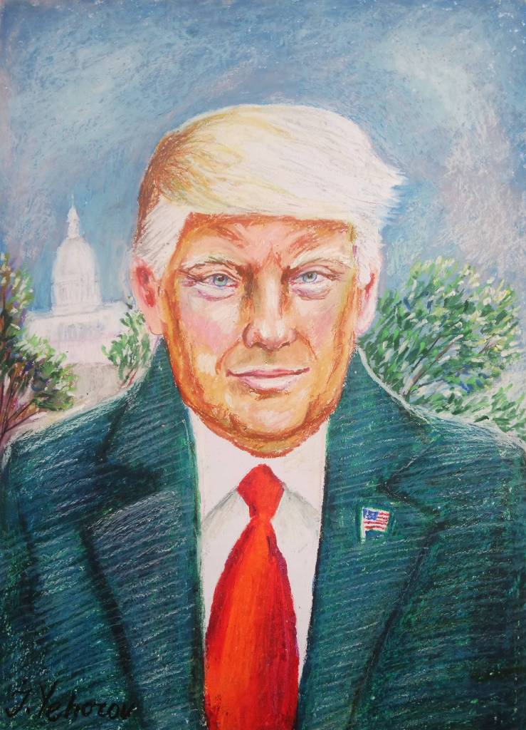 Ivan Yehorov-Donald J. Trump, American President