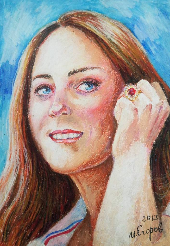 Ivan Yehorov-Kate Middleton, The Duchess of Cambridge