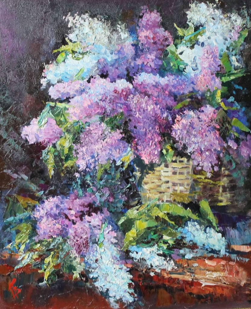 Pavel Veselkin-Blooming lilac