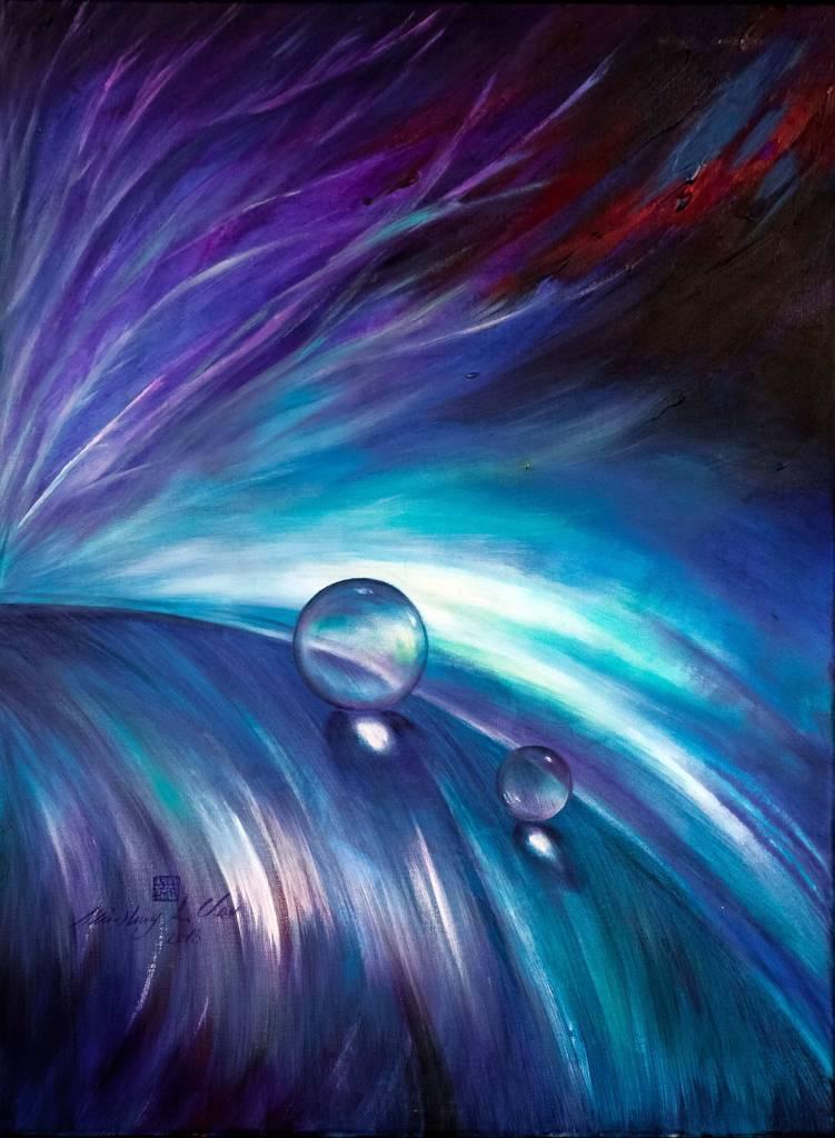 周旻虹-藍紫光影