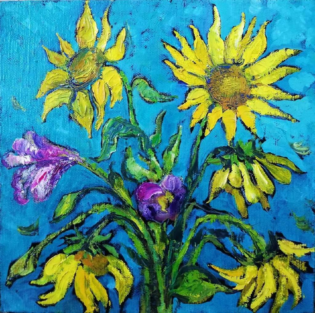 Natalia Nysh-Sunflowers