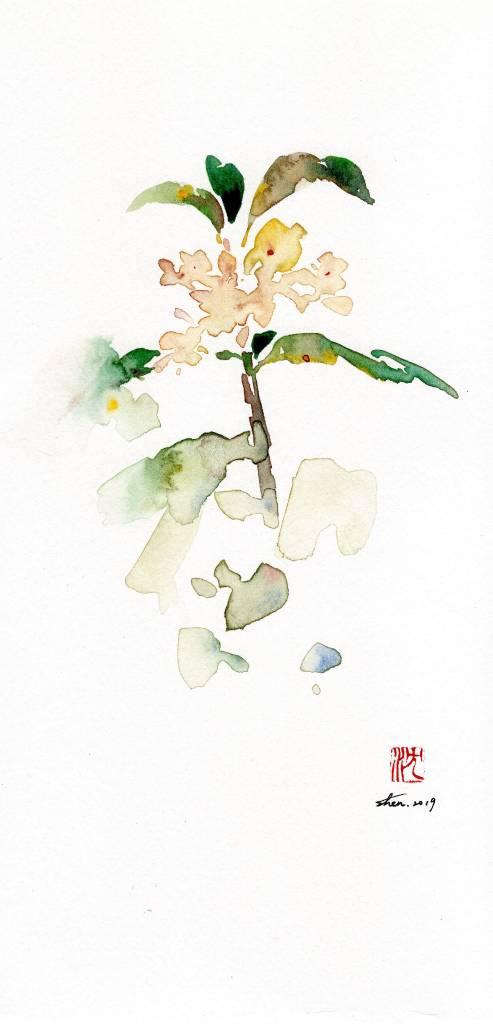 沈鈺華-桂花 III