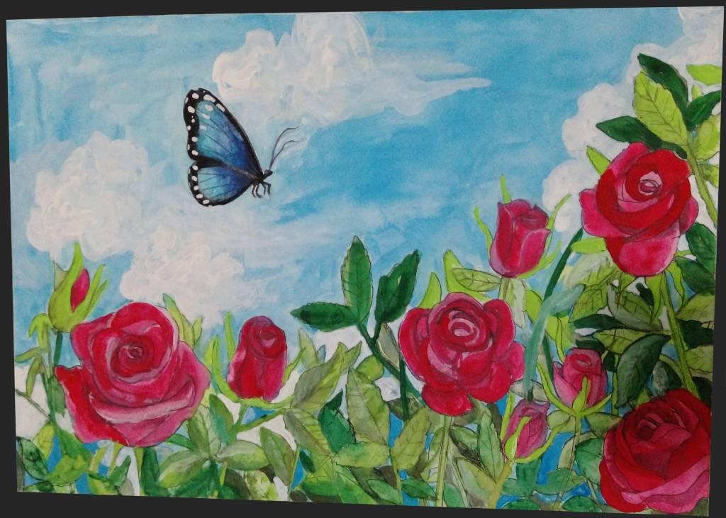 許煥林-晴天的玫瑰與蝴蝶
