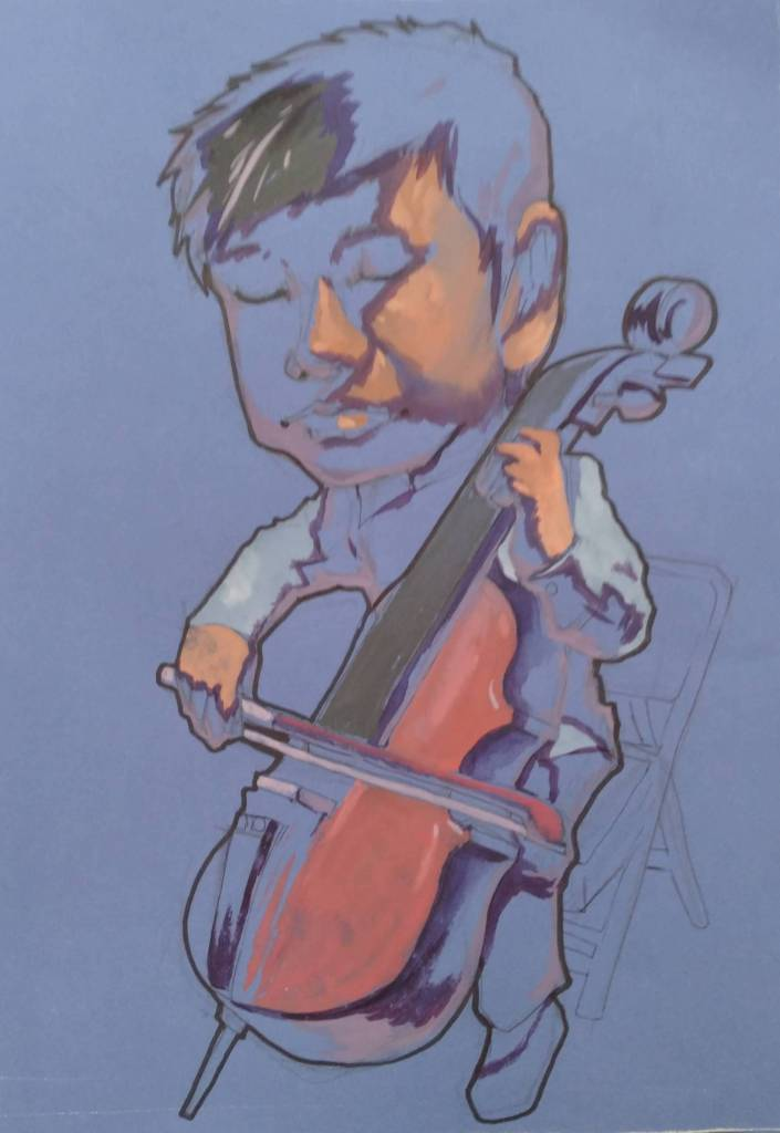 胡志誠-Q版大提琴手2