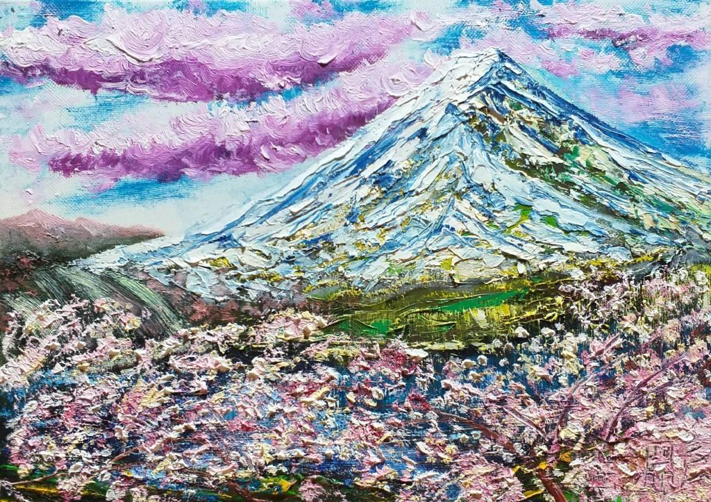 鄭淵仁-富士山