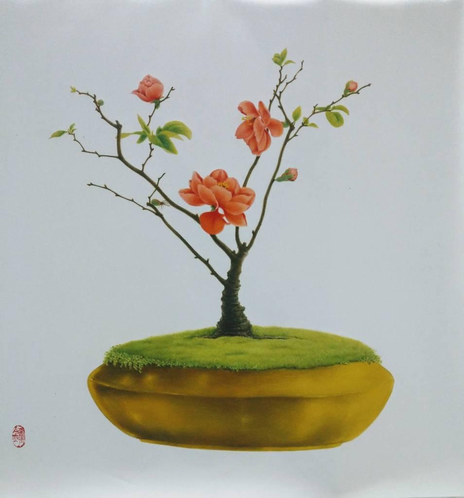 翁璽金-長壽梅