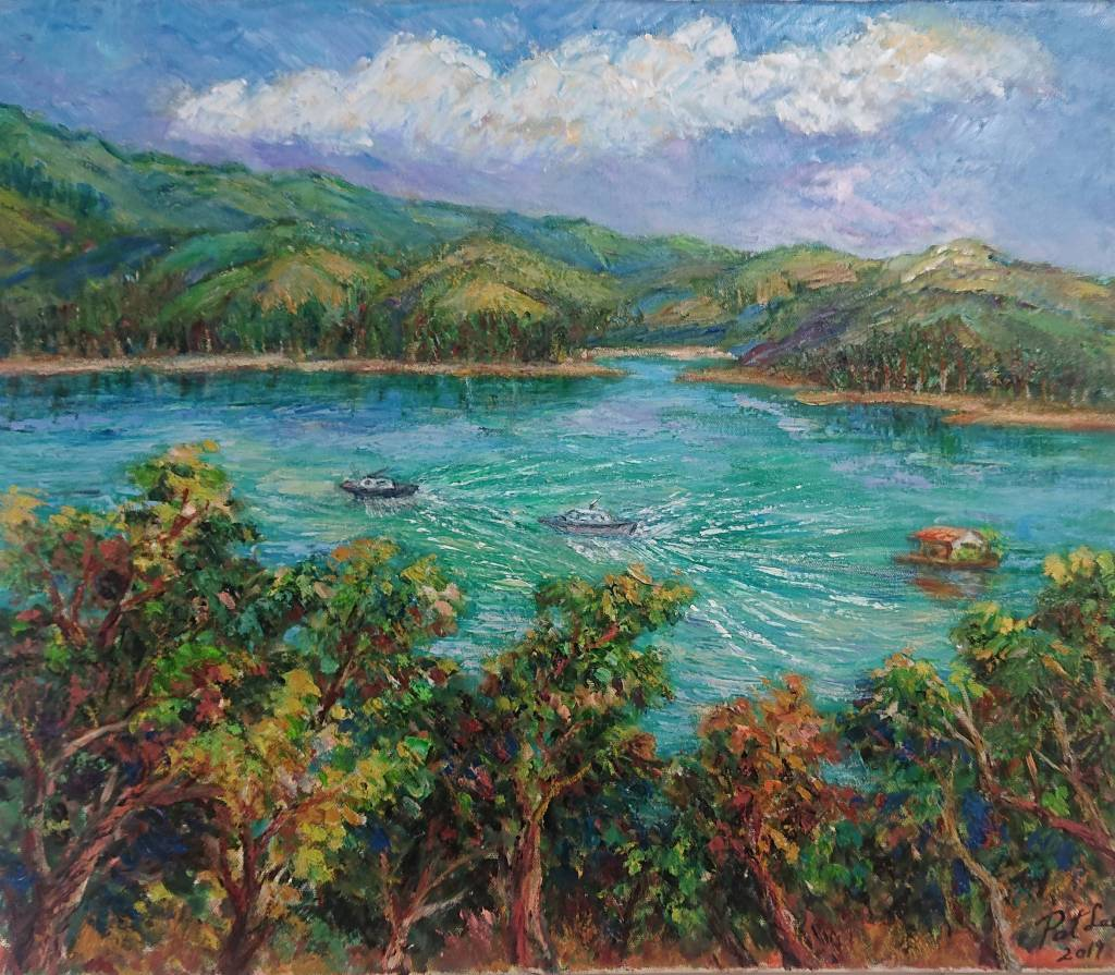 李芳時-漁舟出航